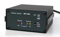 WT100 walkie-talkie interface